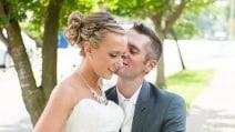 E' disabile, ma decide di regalare alla moglie il primo ballo durante il matrimonio