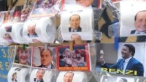 Politici (e club di calcio) sulla carta igienica: solo a Napoli