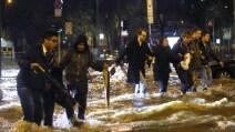 Maltempo a Milano, esondano i fiumi
