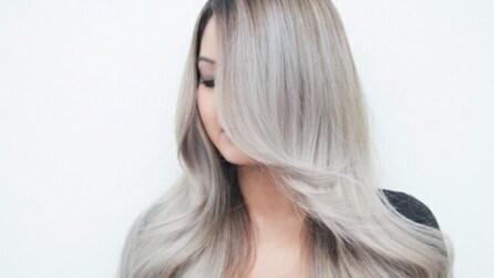 Capelli grigi, il colore più trendy del momento