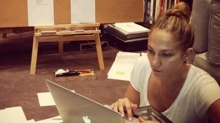 I selfie senza trucco di Jennifer Lopez