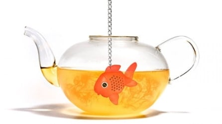 È sempre l'ora del tè: che sorpresa l'infusore