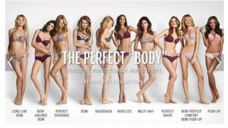 """The Perfect Body"": lo sbaglio commesso da Victoria's Secret"