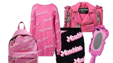 La collezione Moschino dedicata a Barbie