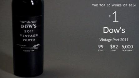 I 10 vini migliori del 2014 per Wine Spectator