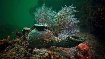 Egitto, sub scoprono una città sommersa nel Mar Mediterraneo