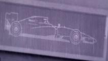 La monoposto di F1 invisibile a occhio nudo