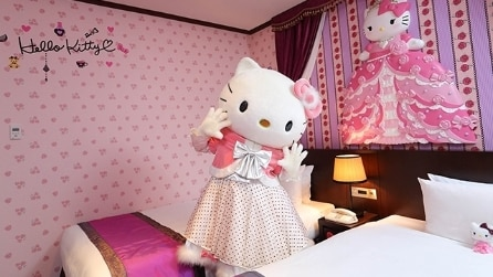L'Hotel dedicato ad Hello Kitty