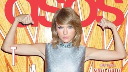 Taylor Swift posa per la cover di Asos Magazine