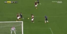 Roma-Inter: Osvaldo segna ed esulta, bordata di fischi dell'Olimpico
