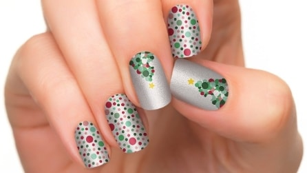 5 manicure natalizie da provare