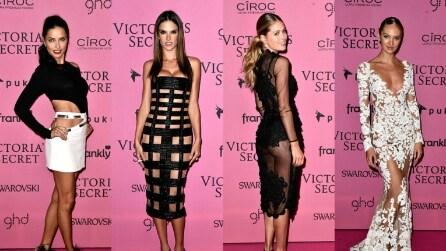 Gli Angeli di Victoria's Secret sul tappeto rosa: diamo i voti ai look delle top