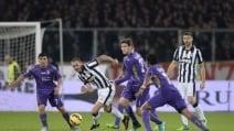 Le immagini di Fiorentina-Juventus