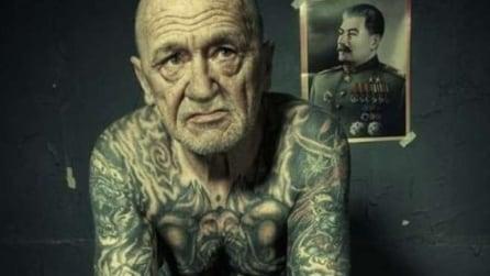 Ecco come invecchieranno i giovani tatuati