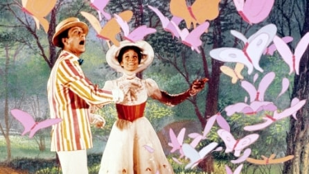 Mary Poppins - Le foto dal set