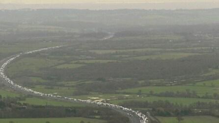 Regno Unito, enorme coda in autostrada: 13 km