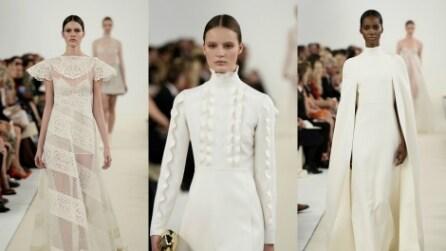 """Valentino Haute Couture: la collezione """"Sala Bianca 945"""""""