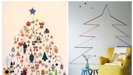 Natale fai da te: le 20 idee più creative per un albero non convenzionale