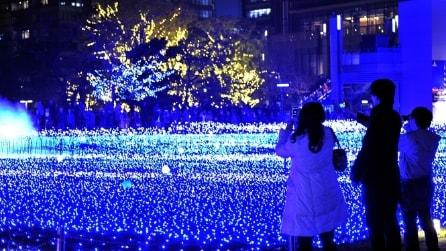 """Tokyo Midtown: le stelle """"cadono"""" a terra"""