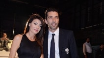 Gigi Buffon e Ilaria D'Amico insieme al Gran Galà del calcio