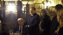 """Berlusconi cena con i big di Forza Italia: """"Da febbraio torno in campo"""""""