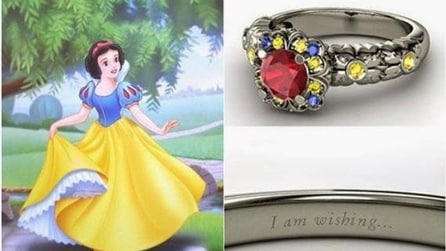 Arrivano gli anelli delle Principesse Disney
