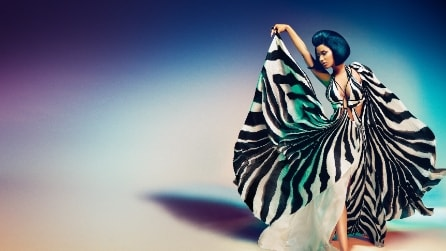 Nicki Minaj in versione lady chic per Roberto Cavalli