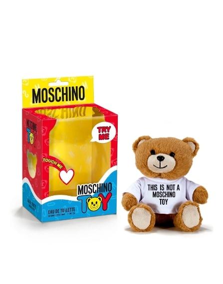 La nuova frgranza Moschino con divertente packaging ad orsetto 98 euro.