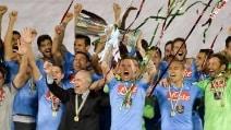 Supercoppa Italiana, le foto della festa del Napoli