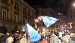 I tifosi del Napoli si riversano nelle strade dopo la vittoria della Supercoppa Italiana