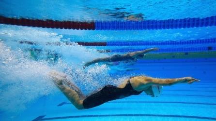 Trucco in piscina, si o no? Ecco il make up da provare