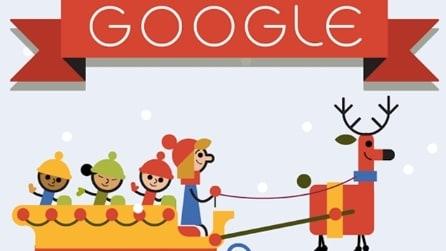 Tutti i Google Doodle di Natale