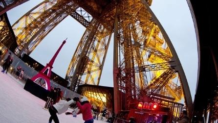 Pista di pattinaggio Tour Eiffel
