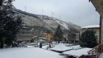 Temperature sotto zero, la Campania imbiancata dalla neve