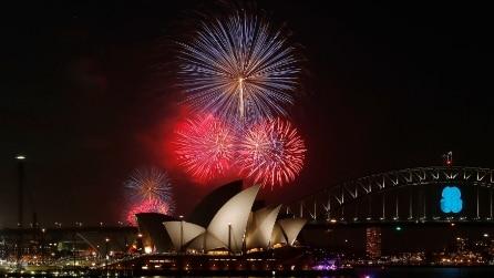 Sydney, il meraviglioso spettacolo di Capodanno 2015