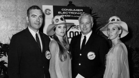 L'evoluzione del CES di Las Vegas nelle fotografie degli anni '60, '70 e '80