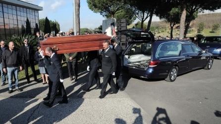 Pino Daniele: i funerali a Roma