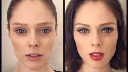 Celebrities senza trucco: i selfie prima e dopo il make up