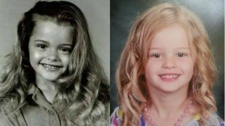 Genitori e figli che si somigliano incredibilmente