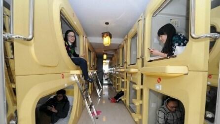 Capsule hotel, dormire in spazi ridotti a prezzi contenuti
