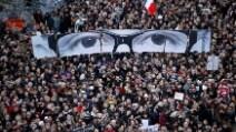 Parigi, le immagini più significative del corteo anti-terrorismo