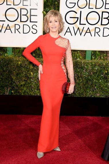 Ancora una volta Jane Fonda ruba la sena alle colleghe più giovani. Sexy dopo gli anta. VOTO: 8