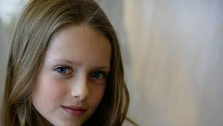 Elizabeth Hiley è la sosia di Kristina Pimenova