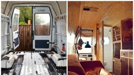 Da vecchio furgone a casa mobile: come creare un camper fai da te