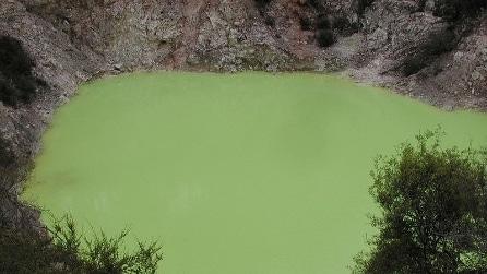 Devil's Bath, il lago verde in Nuova Zelanda