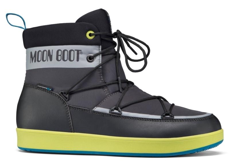 Moon Boot, celebre per i suoi scarponi da neve, con la nuova sneaker NEIL nel 2015 decreta il suo ingresso anche per l'uomo, nel mondo del winter-footwear urbano.