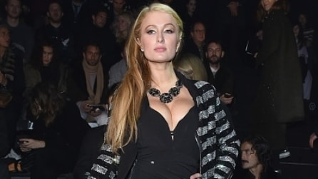 Gli originali look di Paris Hilton alla Milano Fashion Week
