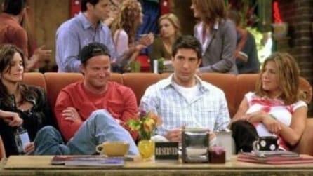 Friends, il tavolo del Central Perk era riservato