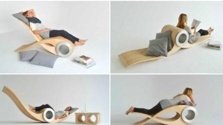Exocet, la sedia che si trasforma in ciò che desideri