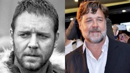 Russell Crowe ieri e oggi, come invecchia un sex symbol